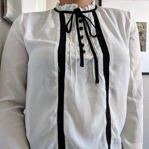 Cute Chiffon long sleeve